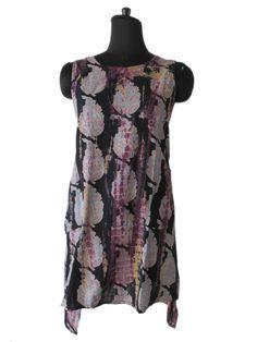 paisley print adorable wrep dress designer tunic #YASH #WrapDress #Casual