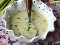 Sütlü Pırasa Çorbası tarifi Eastern Cuisine, Icing, Food And Drink, Cooking Recipes, Healthy, Ethnic Recipes, Desserts, Soups, Swimwear