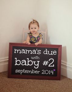 baby announcement | second baby announcement| morgan makes three blog