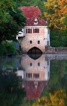 Moulin de Saint Cirq - Lapopie, France