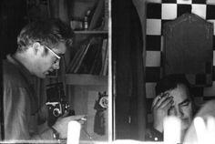 James Dean photographing Roy Schatt.