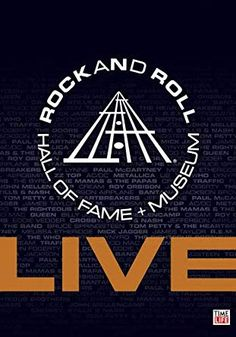 Rock and Roll Hall of Fame Live Set This 9 DVD set features rare 91f84280b