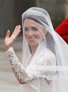 Wedding Hair with Veils.