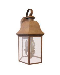 Kichler Lighting 9799 OB Huntington Collection Three Light Outdoor Wall Lantern in Olde Brick Finish