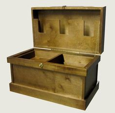 A Circuit tack trunk. unstained $200