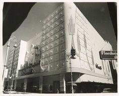 """El Encanto department store in Havana 1955 - Tienda por departamento """"El Encanto"""", La Habana, ca. 1955"""