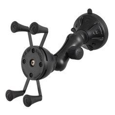 RAM Mount X-Grip Composite Twist Lock Suction Cup Mount [RAP-B-166-2-UN7U]
