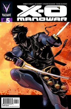 X-O Manowar #5 1:50 variant by Patrick Zircher $80