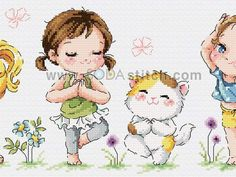 Yoga Cats Yoga with cat counted cross stitch chart sodastitch Cross Stitch Freebies, Cross Stitch Samplers, Counted Cross Stitch Patterns, Cross Stitches, Cross Stitch Animals, Cross Stitch Flowers, Cross Stitch Tutorial, Cross Stitch Kitchen, Bargello