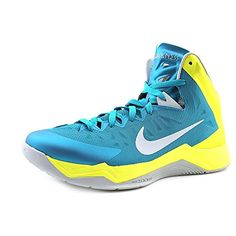 innovative design 48124 4754d Nike Mens Zoom Hyperquickness Tropical TealWolf GreySonic Yellow 11 M US  gtgtgt