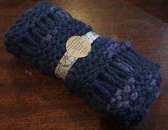 Baby Alpaca Snood  Blue/Lilac by MySimplyMade on Etsy