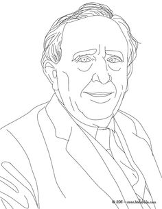 jrr tolkien coloring page
