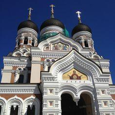 Iglesia ortodoxa en Tallin
