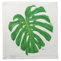 Tropical Monstera Leaf Cloth Cocktail Napkins Majestic Monstera Leaf products gifts and home goods featuring the giant leave called Monstera. Monstera Leaves, Monstera Deliciosa, Plant Leaves, Cotton Napkins, Cloth Napkins, Leaf Drawing, Leaf Art, Cocktail Napkins, Tropical Paradise