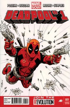 Deadpool - sketch cover - Chris Ring