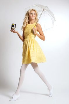 Want a unique costume that will be sure to draw an eye? Be the Morton Salt Girl. Grab a yellow dress white shoes and a umbrella. It is like you are twins.  sc 1 st  Odyssey & 12 DIY Halloween Costumes For People On A Budget