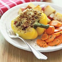 Make your weeknights easier with this simple, delicious stuffed pepper recipe.