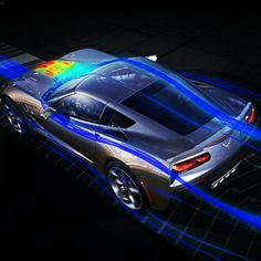 The Stunning Corvette Stingray