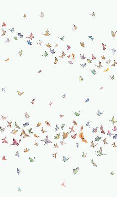 Splendid print cream indoor wallcovering by Brunschwig Butterfly Wallpaper Iphone, Iphone Background Wallpaper, Cool Wallpaper, Simple Wallpapers, Pretty Wallpapers, Aesthetic Pastel Wallpaper, Aesthetic Wallpapers, Apple Watch Wallpaper, Whatsapp Wallpaper