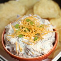 Crack Dip Recipe Appetizers with sour cream, ranch dressing, bacon bits, shredded cheddar cheese....soooo good !