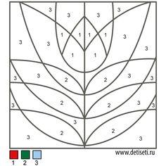 Раскраски по цифрам: Цветок Kindergarten Math Worksheets, Teaching Math, 8 Martie, Folk Art, Colour, Fine Motor, Color, Popular Art, Colors