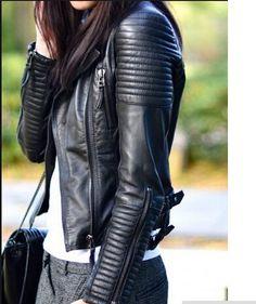 Bomber Leather jackets new fashion women designer fashion outerwear jacket supernova sale jaqueta couro size sml Free shipping