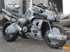 Mospeada_Ride_Armor_Motorcycle Shadowrun Bike Cyberpunk