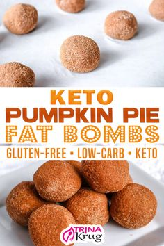 Pumpkin Pie Fat Bombs, Keto Pumpkin Pie, Pumpkin Recipes, Pumpkin Pumpkin, Healthy Pumpkin, Pumpkin Cookies, Keto Cookies, Pumpkin Bread, Pumpkin Carving