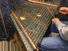 The Phoebe Chromatic hammered dulcimer offers an extended range with an additional bridge. Finish options make for a truly custom dulcimer. Hammered Dulcimer, Harp, Musicals, Watch, Romantic, Music, Clock, Bracelet Watch, Clocks