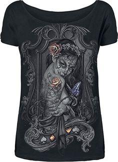 Alchemy England Wodow's Weeds Girl-Shirt schwarz S