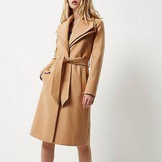 Blush double collar robe coat - coats - coats / jackets - women