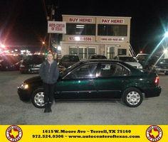 #HappyBirthday to Tonya Riddle from Jesse Zavala at Auto Center of Texas!