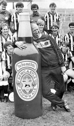 Peter Beardsley, Chris Waddle, Jack Charlton, Newcastle United Football, Newcastle England, Ten Games, British Football, Piercings, Soccer