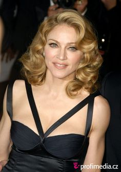 Image detail for -Prom hairstyle - Madonna - Madonna
