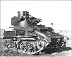 Vickers Light Tank MkVIB