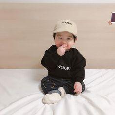 Cute Asian Babies, Korean Babies, Asian Kids, So Cute Baby, Cute Kids, Little Babies, Baby Kids, Baby Boy Newborn, The Babys