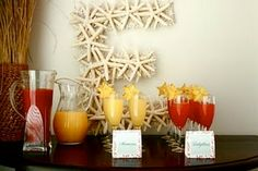 Coral Baby Shower by Beth Beattie