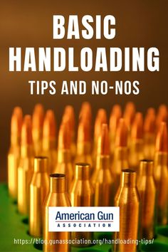 Sooner or later, every gun owner hears about handloading. However, there's a right way of doing it. Read more about it below. #handloading #ammunition #guns #firearms #gunassociation