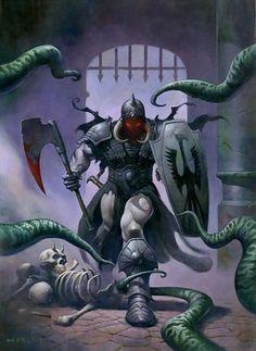 Death Dealer, vu par Alex Horley