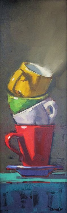 cathleen rehfeld • Daily Painting: still life
