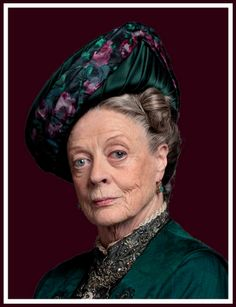 DOWNTON ABBEY Violet Crawley - See photos of the UK Period Piece Masterpiece Theatre series