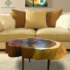 The Druid's Garden (@thedruidsgarden.in) • Instagram photos and videos Driftwood For Sale, Driftwood Art, Art Furniture, Living Room Furniture, Slice Of Life, Drawing Room, Wood Table, Modern Decor, Home Furnishings