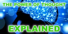LESSON #3: The Power of Thought. Check it out: http://www.attractionlawsecret.com/2014/08/19/the-power-of-thought/