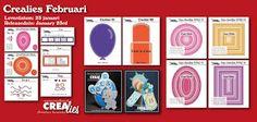 Crealies: Nieuwe producten Crealies februari / new products ...