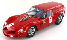 The Scuderia SSS Republica di Venezia Ferrari 250 GT Drogo 'Breadvan' as raced to 4th place by Carlo Abate at the Guards Trophy at Brands Hatch in 1962.