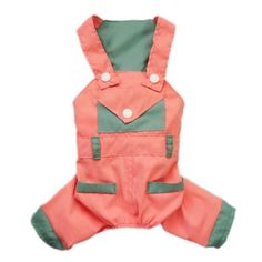 Adorable Dog Overalls for Dog Clothes Cozy Bright Dog Jumpsuit Dog Shirt Free Shipping,Red,XL