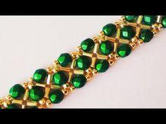 Beautiful bracelet. DIY. Красивый браслет своими руками. МК - YouTube