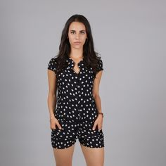 Kitty Romper  Be spotted with this awesome 100% rayon Dresses