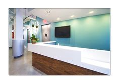 another view of our Chelsea office reception desk.