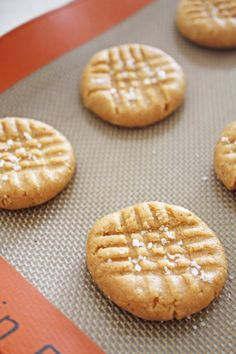 Peanut Butter Cookies - No butter, no eggs and uses honey instead of sugar. Fun for the kids to help with too!